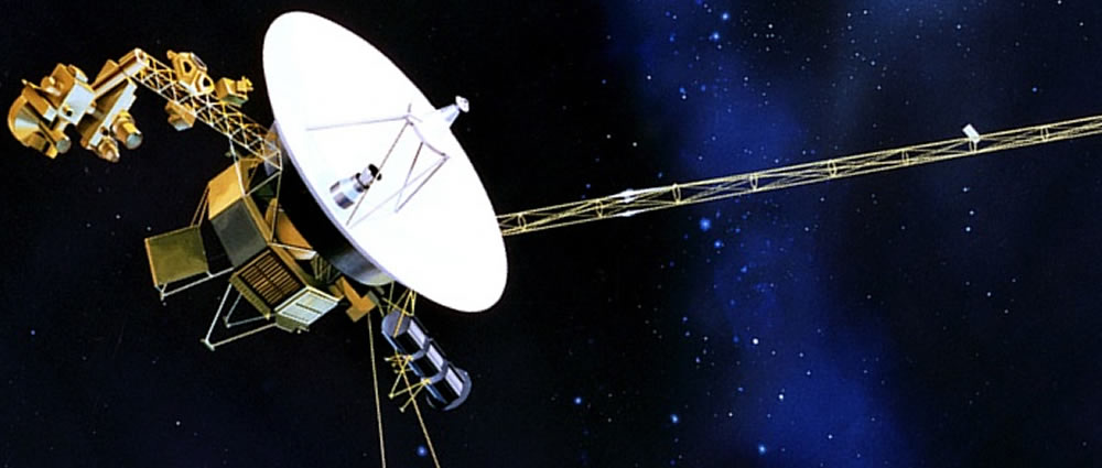 voyager 1 Voyager 1 is the most distant manmade object and is still returning information about the solar system's edge like voyager 2, it carries greetings and a gold record of earth sounds and music in.