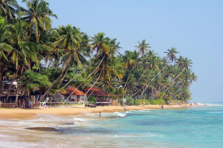 Унаватуна. Шри-Ланка